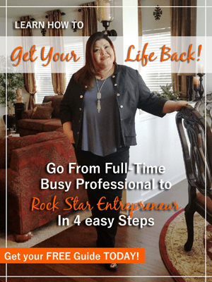 go from full-time busy professional to rock star entrepreneur in 4 easy steps