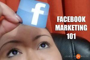 Jennifer teaches YOU facebook marketing