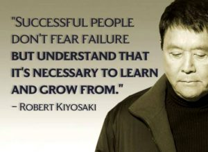 successful people don't fear failure