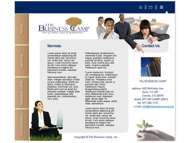 The Business Camp (site)