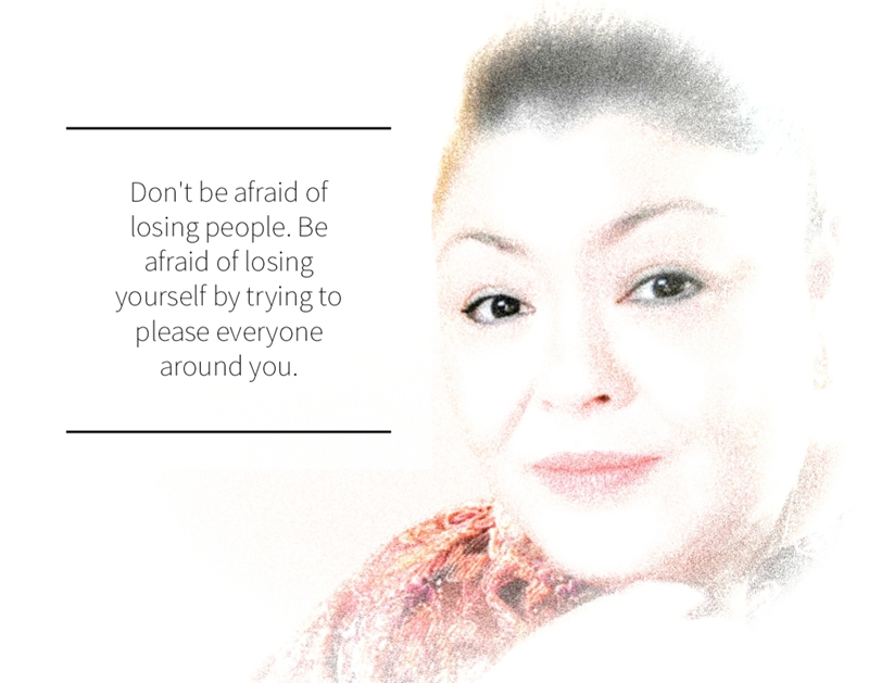 Don't lose yourself trying to please other people